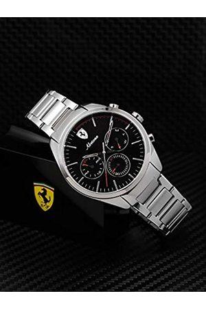Scuderia Ferrari Unisex Multi dial Quartz Watch with Stainless Steel Strap 0830505