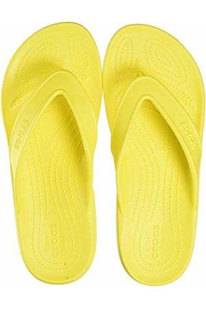 Crocs Unisex Adult's Classic II Flip Flops, (Lemon 7c1)