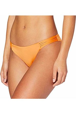 Seafolly Women's Active Multi Rouleau Brazilian Bikini Bottoms, Cantaloupe