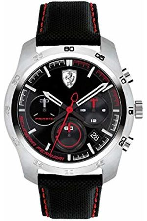 Scuderia Ferrari Mens Chronograph Quartz Watch with Leather Strap 0830444