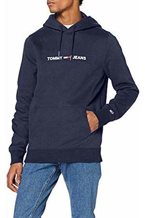 Tommy Hilfiger Men's TJM Straight Small Logo Hoodie Sports Jumper