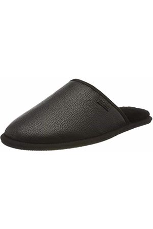 HUGO BOSS Men's Home_Slip_grf 10214624 01 Open Back Slippers, ( 001)