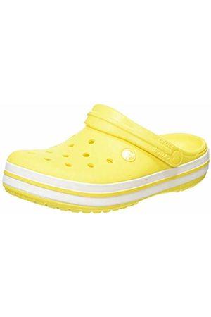 Crocs Unisex Adult's Crocband Clogs, (Lemon/ 7b0)