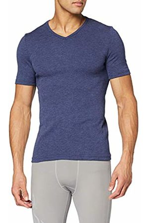 Damart Men's T-Shirt Col V Maille Interlock Thermolactyl Degré 3 Thermal Top