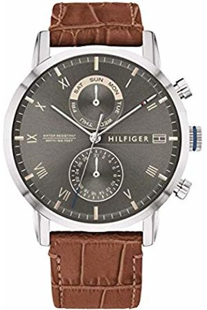 Tommy Hilfiger Men's Analogue Quartz Watch with Leather Strap 1710398
