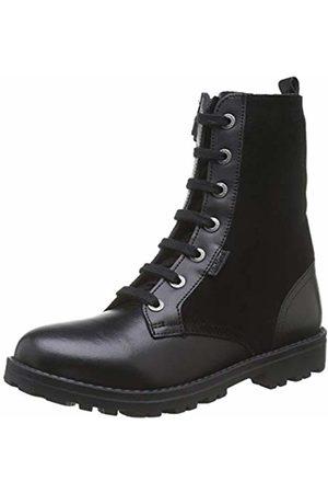 Kickers Girls' Growupp Slouch Boots, (Noir 8)
