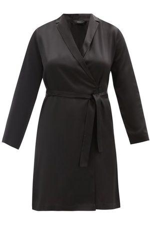 La Perla Women Bathrobes - Belted Short Silk Robe - Womens
