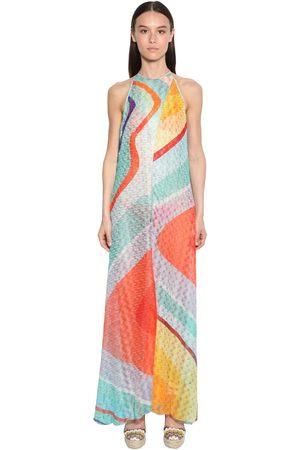 Missoni Viscose Knit Long Dress