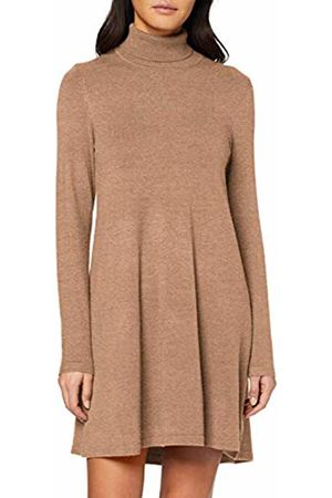 Vero Moda Women's Vmhappy Ls Rollneck Dress Boo