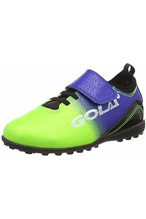 Gola Boys Apex 2 Vx Qf Football Boots, (Lime/ Ne)