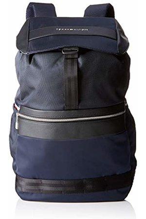 Tommy Hilfiger Nylon Mix Flap Backpack, Men's Wallet