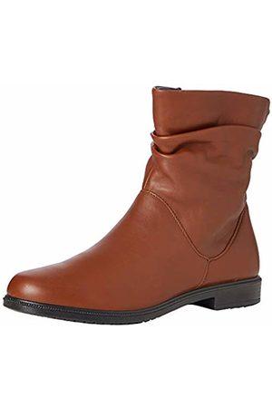 Hotter Women's Chester Slouch Boots, (Dark Tan 021)