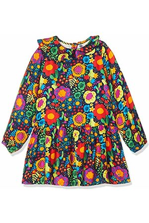 Tuc Tuc Purple Printed Twill Dress for Girl Stranger-Creatures