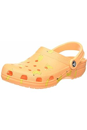 Crocs Unisex Adult's Classic Vacay Vibes Clog, (Cantaloupe 801)