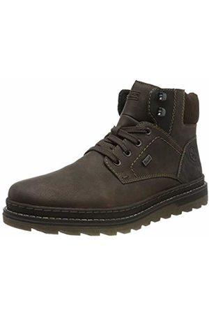 Rieker Men's Herbst/Winter Classic Boots, (Moro/Schwarz/Moro/ 25 25)