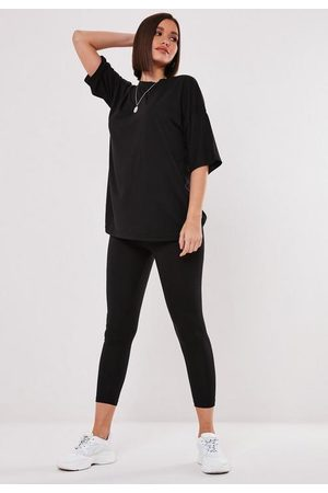 Missguided Oversized T Shirt And Leggings Set
