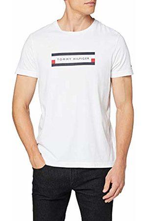 Tommy Hilfiger Men's Corp Box Logo TEE Sport Shirt
