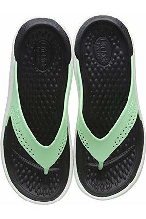 Crocs Unisex Adult's LiteRide Flip Flops, (Neo Mint/Almost 3tp)