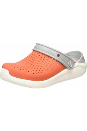 Crocs Unisex Kid's LiteRide Clog, (Tangerine/ 895)