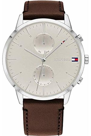 Tommy Hilfiger Men's Analogue Quartz Watch with Leather Strap 1710404