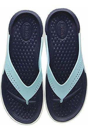 Crocs Unisex Adult's LiteRide Flip Flops, (Ice /Almost 4kp)