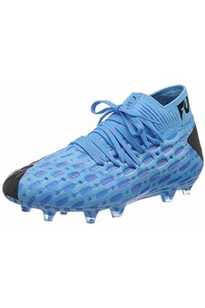 Puma Unisex Kid's Future 5.1 Netfit FG/AG JR Football Boots, (Luminous -Nrgy - Alert 01)