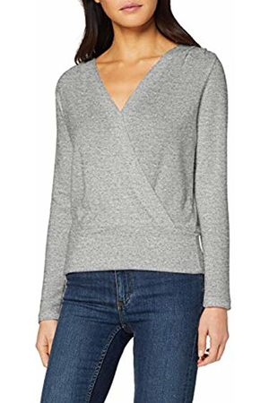 Dorothy Perkins Women's Wrap Front Brushed Top T-Shirt