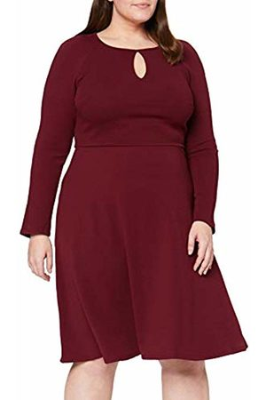 Dorothy Perkins Women's Keyhole Seamed Fit and Flare Dress