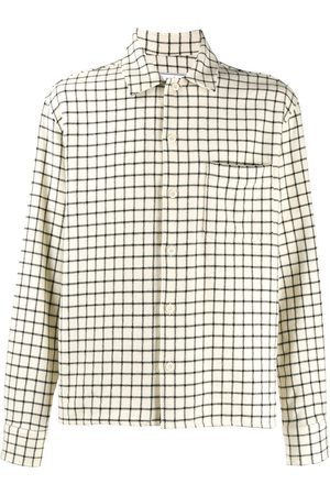 Ami Camp Collar Overshirt - NEUTRALS