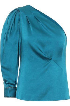 Peter Pilotto Women Tops - One-shoulder satin blouse