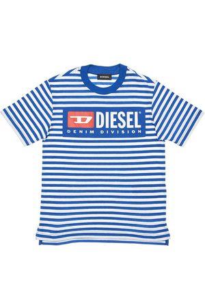 Diesel Stripes Cotton Jersey T-shirt