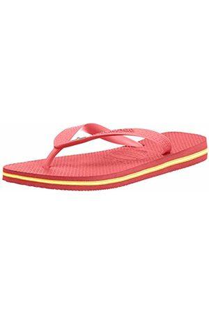 Havaianas Flip Flops - Unisex Adults' Brasil Flip Flops, Multicolor (Coralnew)