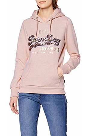 Superdry Women's Vintage Logo Sequin Outline Entry Hood Hoodie