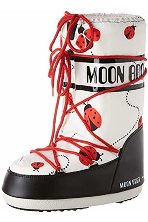 Moon-boot Snow Boots - Moon Boot Jr Girl Ladybug Snow Boots, Unisex Kids', (Multicolor 001)