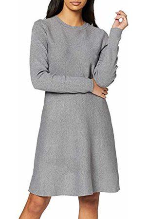 Vero Moda NOS Women's Vmnancy Ls Knit Dress Noos Medium Melange