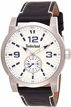 Timberland Mens Analogue Classic Quartz Watch with Leather Strap TBL.15475JS/07