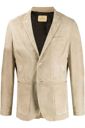 Ajmone Slim-fit jacket - Neutrals