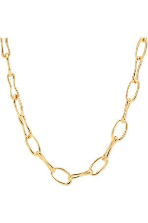 Sophie Buhai Women Necklaces - Roman Chain 18kt -plated necklace