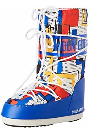 Moon-boot Moon Boot Jr Boy Abstract Snow Boots, Unisex Kids', (Multicolor 001)
