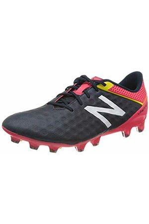 New Balance Men's Visaro Pro Fg Footbal Shoes, (Schwarz/Rot/Gelb Schwarz/Rot/Gelb)