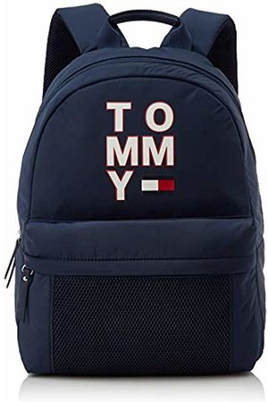 Tommy Hilfiger Unisex-Child Th Kids Tommy Backpack Bag ( Iris)