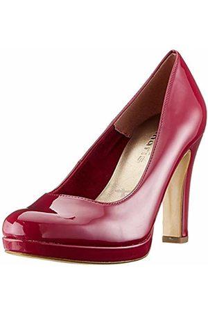 Women's 1 1 22426 24 Closed Toe Pumps, (Cranberry Pat 632)
