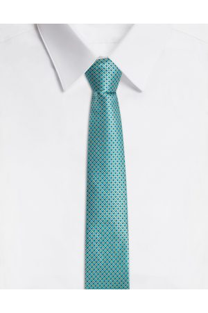 Dolce & Gabbana Ties and Pocket Squares - SILK JACQUARD TIE