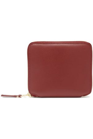 Comme des Garçons Wallet Women Handbags - Leather Zip Wallet - Womens