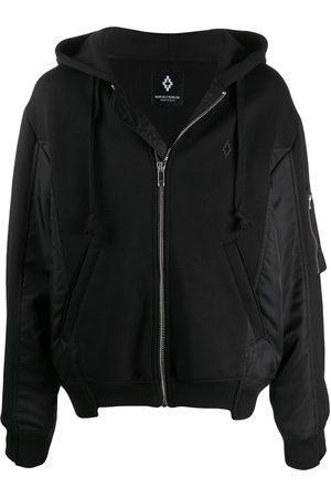 MARCELO BURLON Contrast panels bomber jacket
