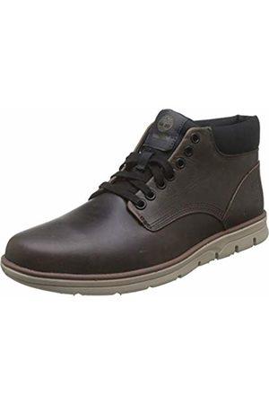 Timberland Men's Bradstreet Chukka Leather High-top Sneakers, /Navy