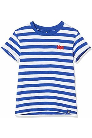 Scotch&Soda Girl's Simple Yarn Dyed Stripe Tee with Small Embroideries Sports Tank Top
