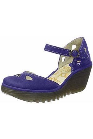 Fly London Women's YUNA Closed Toe Heels, (Royal 143)