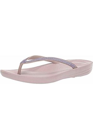 FitFlop Women's Iqushion Sparkle Flip Flops, (Mink 068)