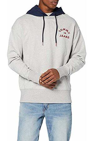 Tommy Hilfiger Men's TJM Contrast Hood Hoodie Sports Jumper